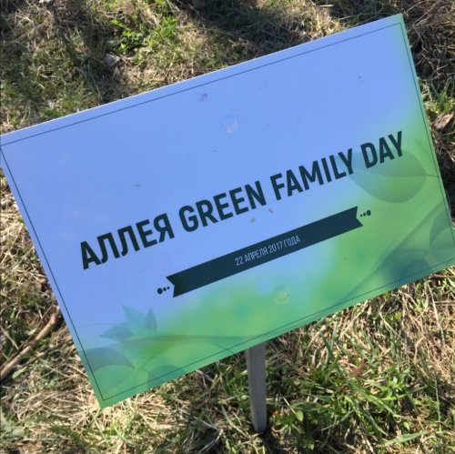 GREEN FAMILY DAY